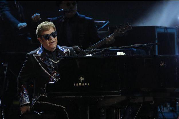 Elton John, le 28 janvier 2018.