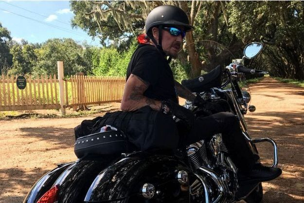 Johnny Hallyday, en road trip aux Etats-Unis