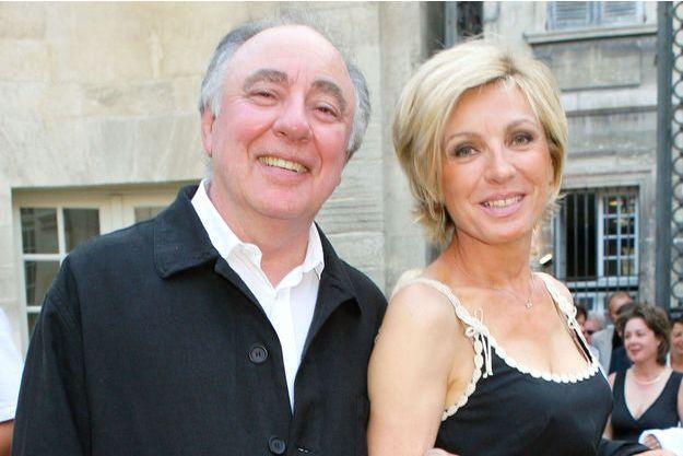 Evelyne Dhéliat et son époux Philippe au temps du bonheur en 2006.
