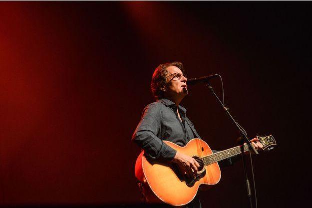 Francis Cabrel en concert en octobre 2015.