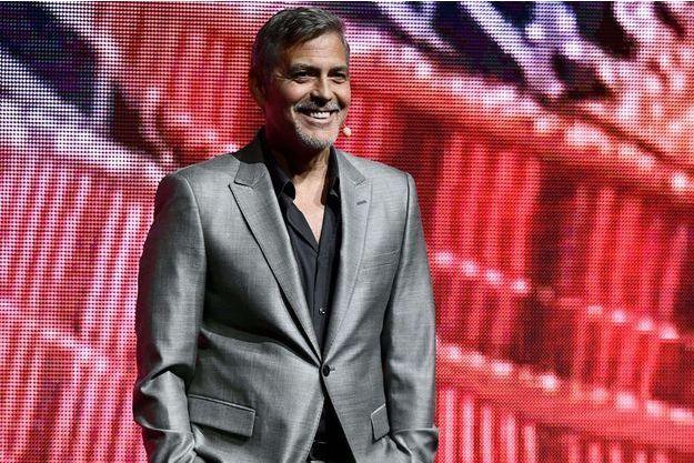 George Clooney au CinemaCon de Las Vegas, le 28 mars 2017.