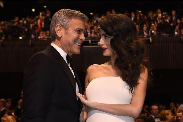 George et Amal Clooney à Paris