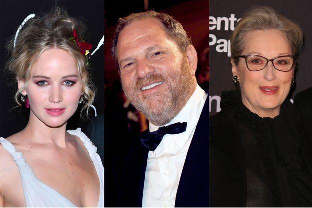 Jennifer Lawrence, Harvey Weinstein, Meryl Streep