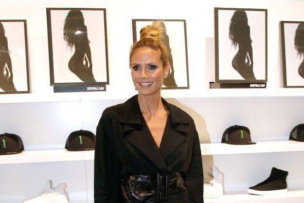 Heidi Klum à Paris
