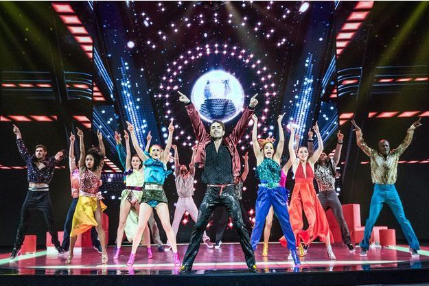 """Saturday Night Fever"" au Palais des Sports de Paris jusqu'au 29 avril prochain."
