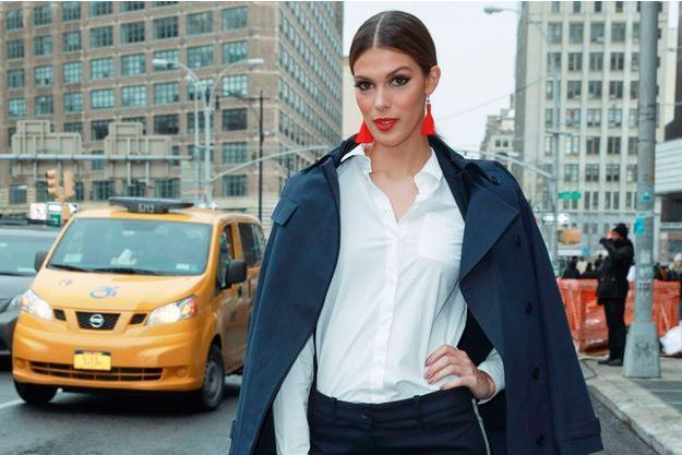 Iris Mittenaere à New York.