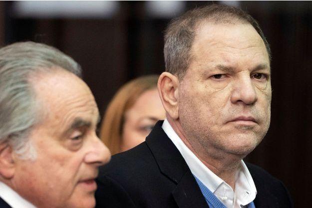Harvey Weinstein et son avocat Benjamin Brafman