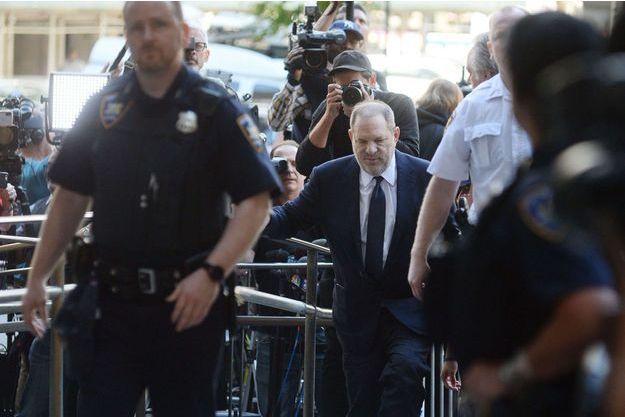 Weinstein à l'entrée du tribunal le 5 juin 2018.