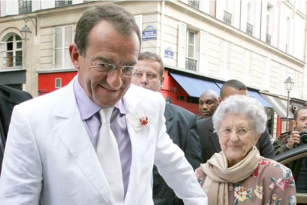 Jean-Pierre Pernaut et sa maman Françoise en 2007