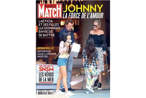 La couverture du numéro 3542 de Paris Match.