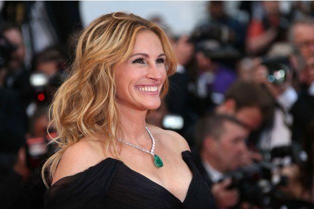 Julia Roberts rayonnante à Cannes