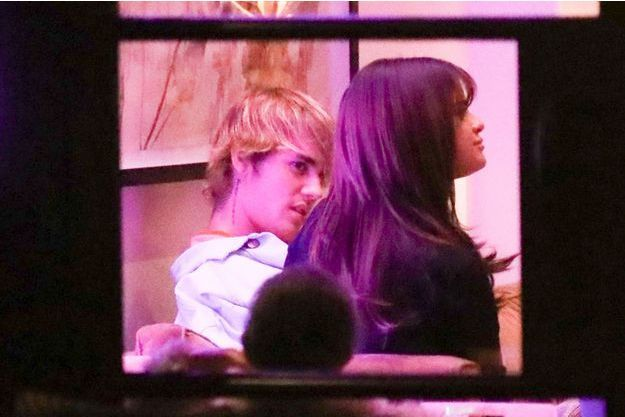 Justin Bieber et Selena Gomez à la Saint-Valentin, le 14 février 2018.