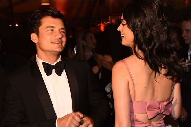 Katy Perry et Orlando Bloom à Los Angeles en janvier dernier.