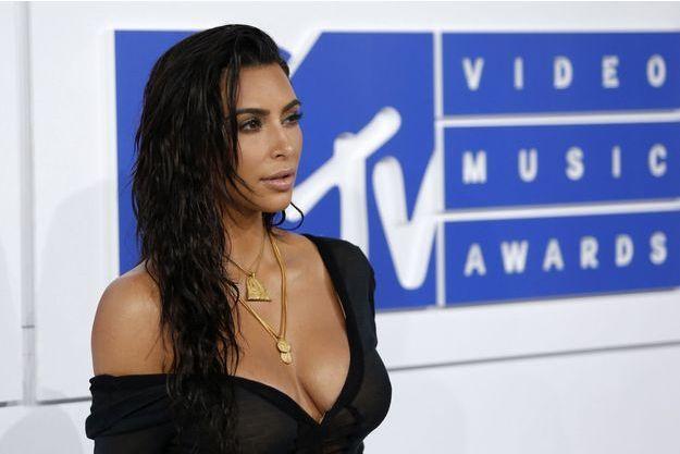 Kim Kardashian le 29 août 2016.