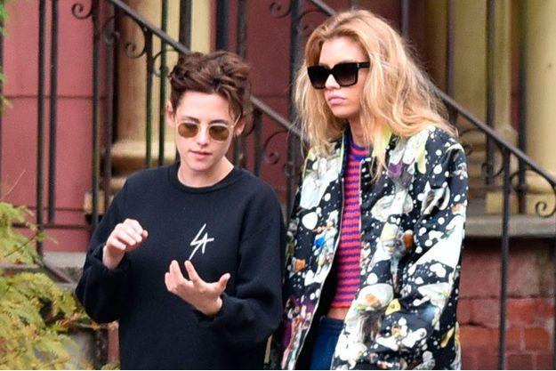 Kristen Stewart et Stella Maxwell