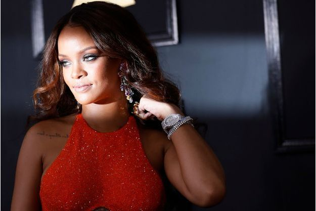 Rihanna aux Grammy Awards le 13 février