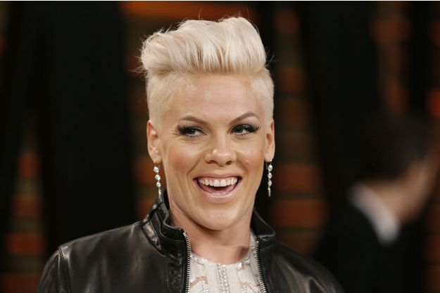 Pink à Hollywood en mars 2014.