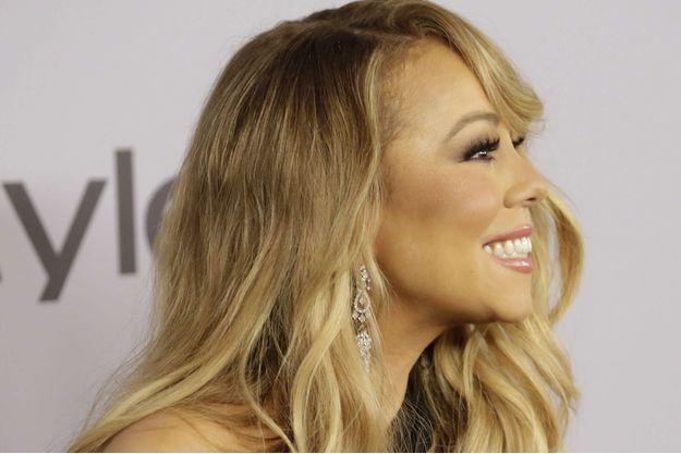 Mariah Carey en janvier 2018 à Los Angeles.