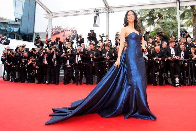 Mallika Sherawat lors du Festival de Cannes 2015.