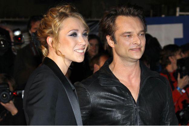 David et Laura en janvier 2010 aux NRJ Music Awards.