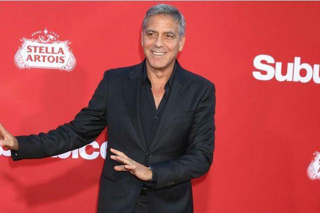 George Clooney en octobre 2017.