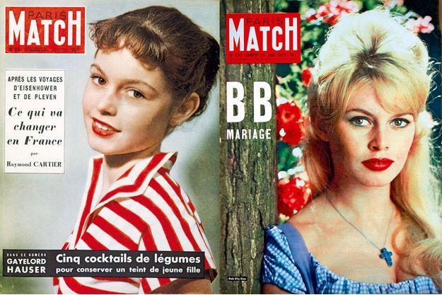 Deux couvertures légendaires de Brigitte Bardot
