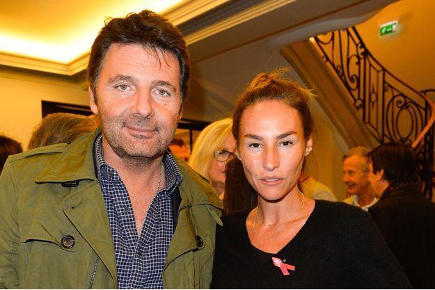 Philippe Lellouche et Vanessa Demouy, en 2016.