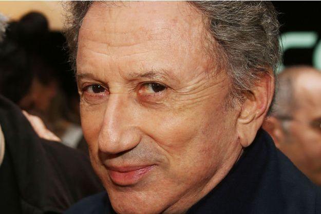 Michel Drucker en janvier, à Paris.