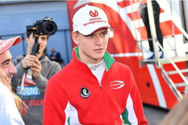 Mick Schumacher en octobre 2016.