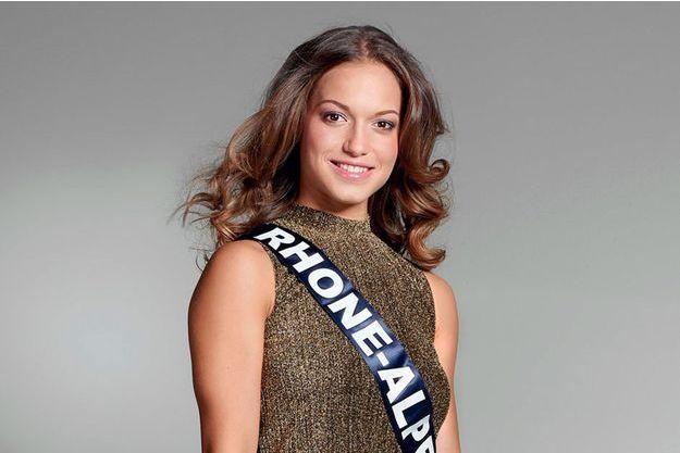 Camille Bernard, Miss Rhône-Alpes 2016