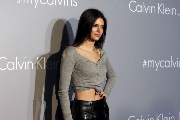 Kendall Jenner à la soirée Calvin Klein Jeans organisée à Hong Kong le 11 juin dernier
