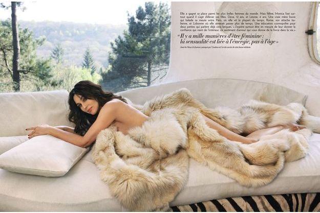 """Monica Bellucci : """"J'ai un homme dans ma vie"""""""