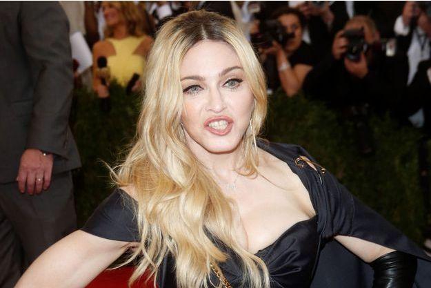 Madonna à New York le 4 mai dernier.