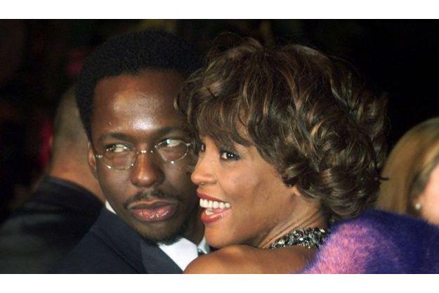 Bobby Brown et Whitney Houston en 2001.