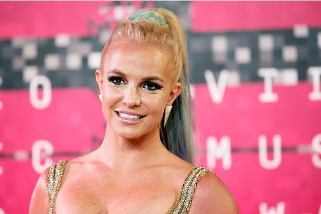 La chanteuse Britney Spears aux MTV VMA 2015 à Los Angeles le 31 août dernier.