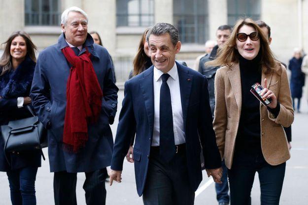 Nicolas Sarkozy et Carla Bruni-Sarkozy, le 13 décembre dernier