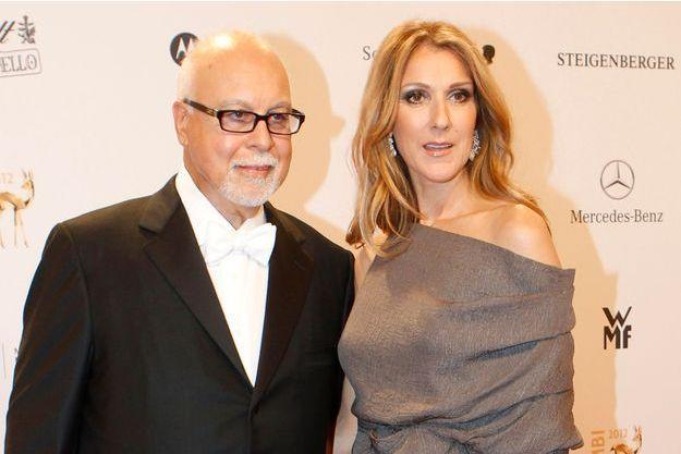 Céline Dion et son mari Réné Angelil le 22 novembre 2012 à Düsseldorf en Allemagne.