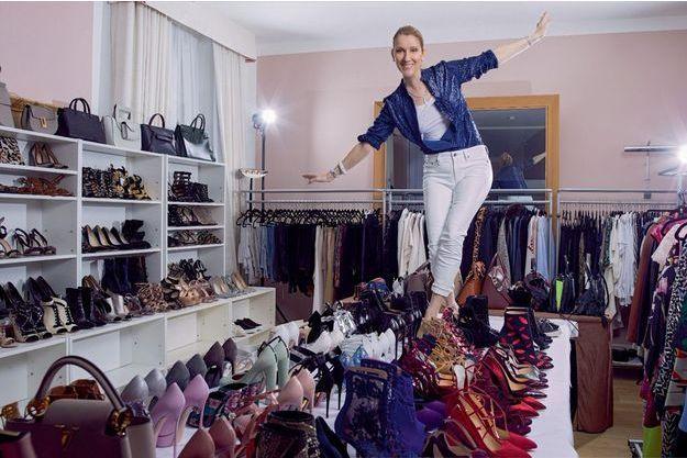 Sacs, chaussures, robes et pantalons : chez Céline on trouve de tout, mais rien n'est à vendre.