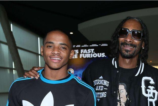 Cordell Broadus soutenu par son rappeur de père, Snoop Dogg