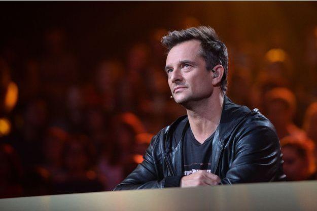 David Hallyday sur le plateau de l'émission de M6 «Rising Star», à Saint-Deni, le 9 octobre 2014