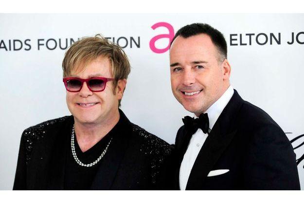 Elton John et David Furnish.