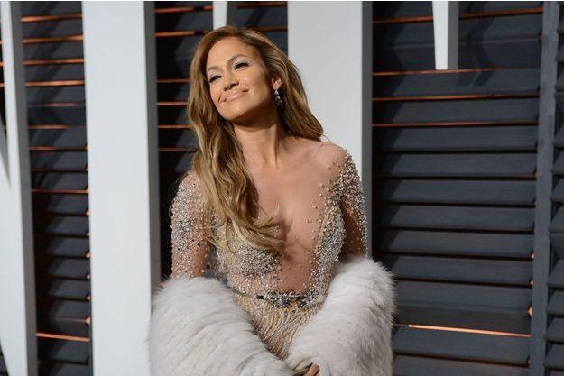 Jennifer Lopez lors de la soirée des Oscars organisée le 22 février dernier.