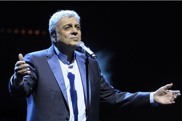 Enrico Macias en concert à Paris le 11 janvier dernier