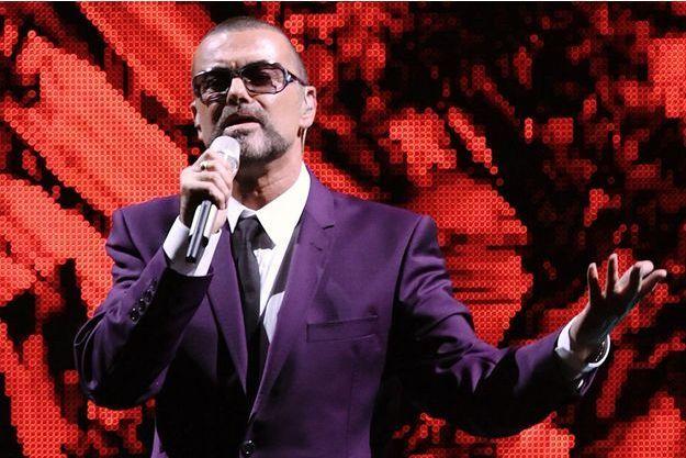 George Michael en concert à Vienne en septembre 2012.