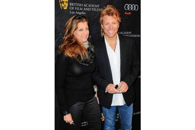 Jon Bon Jovi avec son épouse Dorothea Hurley