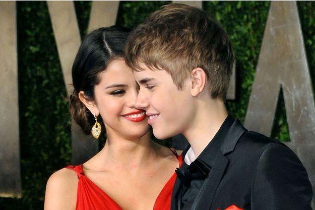 Selena Gomez et Justin Bieber, en 2011.