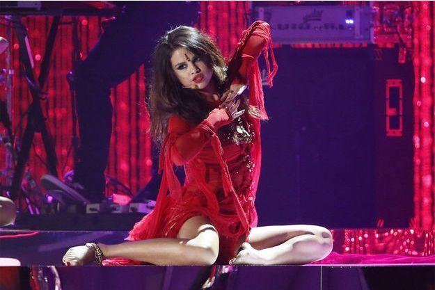 Selena Gomez en concert.