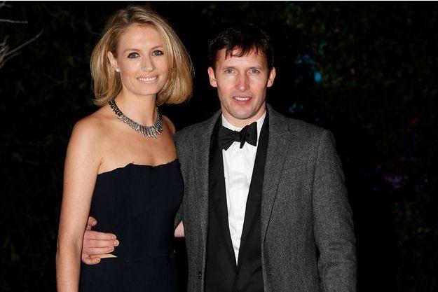 James et Sofia au Winter White Gala, à Kensington Palace, en novembre dernier.