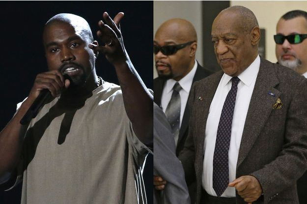 Kanye West et Bill Cosby