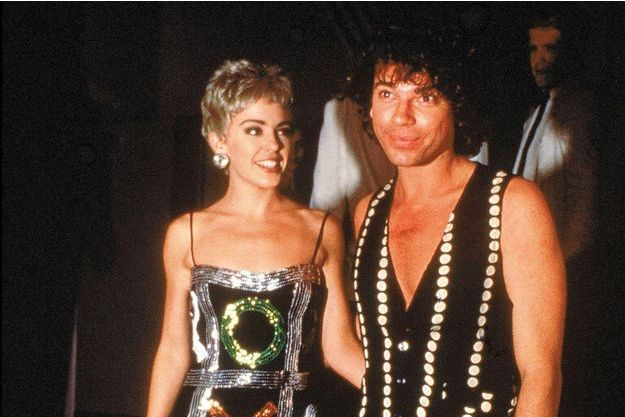 """Le couple à la première de """"The Delinquents"""", en décembre 1989 à Sydney."""